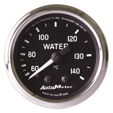 AutoMeter Products 201007 Gauge; Water Temp; 2 1/16in.; 60-140deg.C; Mechanical; Cobra