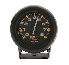 AutoMeter Products 2305 Gauge; Tachometer; 2 3/4in.; 8k RPM; Pedestal; Blk Dial Blk Case; AutoGage