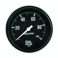 AutoMeter Products 2312 Oil Press Gauge 0-100 PSI