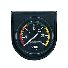 AutoMeter Products 2337 Autogage Vacuum Gauge Panel 2 1/16 in. 30 in.