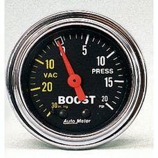 AutoMeter Products 2401 Boost/Vac  30 In. Hg/20 PSI