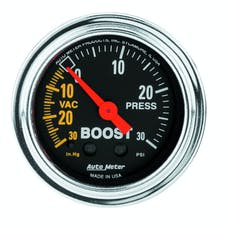 AutoMeter Products 2403 Boost/Vac  30 In. Hg-Vac/30 PSI