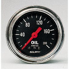 AutoMeter Products 2422 Oil Pressure Gauge  0-200 PSI