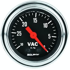 AutoMeter Products 2484 Vacuum Gauge 30 In. Hg
