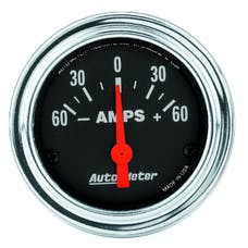 AutoMeter Products 2586 Gauge; Ammeter; 2 1/16in.; 60A; Electric; Traditional Chrome