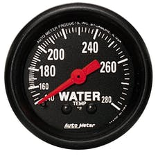 AutoMeter Products 2606 Water Temp  140-280 F