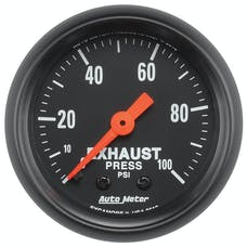 AutoMeter Products 2619 Z-Series│ Exhaust Pressure Gauge