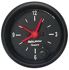 AutoMeter Products 2632 Clock  12 Volt
