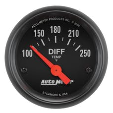 AutoMeter Products 2636 Gauge; Differential Temp; 2 1/16in.; 100-250deg.F; Electric; Z-Series