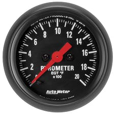 "AutoMeter Products 2655 Gauge, Pyrometer(EGT), 2 1/16"", 2000Γö¼Γòæf, Digital Stepper Motor"