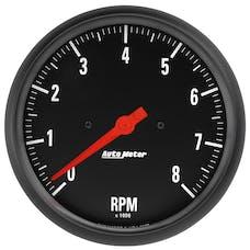 "AutoMeter Products 2677 Gauge, Tachometer, 5"", 8k Rpm, In-Dash, Z-Series"