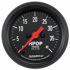 "AutoMeter Products 2696 2-1/16"" High Pressure Oil Pump Gauge"