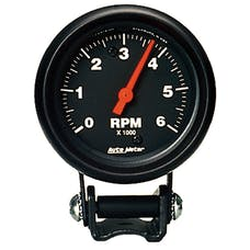 AutoMeter Products 2891 Performance Tachometer 2 5/8 in. 6000 RPM BlacK
