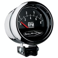 AutoMeter Products 2897 Performance Street Tachometer 3 3/4 in. 8000 RPM Chrome Short Sweep