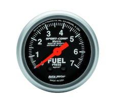 AutoMeter Products 3312-J Fuel Press  0-7 Kg/Cm2
