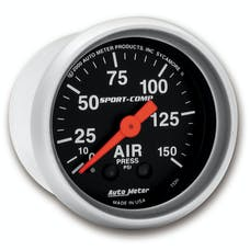 AutoMeter Products 3320 Air Pressure  0-150 PSI