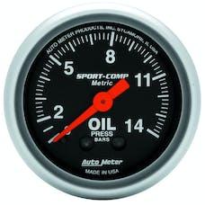 AutoMeter Products 3322-J Oil Press  0-14 Kg/Cm2
