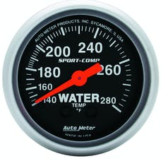 AutoMeter Products 3331 Water Temp  140-280 F