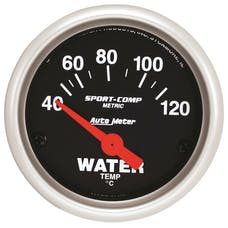 AutoMeter Products 3337-M Water Temp  40-120 C (2-1/16in)