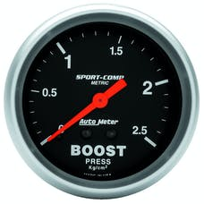 AutoMeter Products 3404-J Boost Press  4 Kg/Cm2