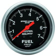 AutoMeter Products 3412-J Fuel Press  0-7 Kg/Cm2
