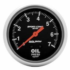 AutoMeter Products 3421-J Oil Press  0-7kg/Cm2