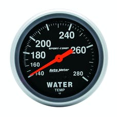 AutoMeter Products 3431 Water Temp 140-280 F