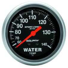 AutoMeter Products 3431-M Water Temp  60-140 C