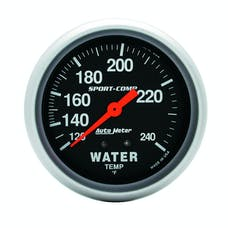 AutoMeter Products 3432 Water Temp 120-240 F