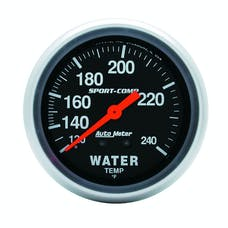 AutoMeter Products 3433 Water Temp  120-240 F