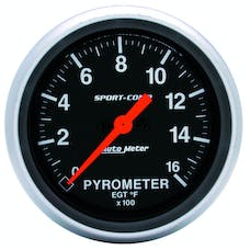 AutoMeter Products 3544 E.G.T. Kit  0-1600 F