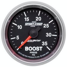 AutoMeter Products 3604 Boost 0-35 PSI Full Sweep