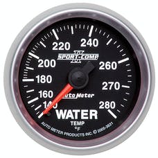 AutoMeter Products 3631 Water Temp 140-280  (Fs)