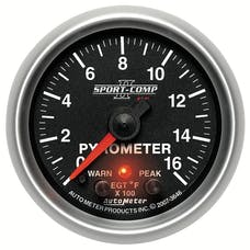 AutoMeter Products 3646 2-1/16in Pyrometer Kit, 0-1600F, FSE