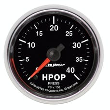 AutoMeter Products 3896 GAUGE; HIGH PRESS. OIL PUMP PRESS.; 2 1/16in.; 4KPSI; DIGITAL STEPPER MOTOR; GS