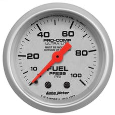 AutoMeter Products 4312 Fuel Pressure  0-100 PSI