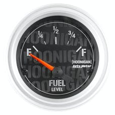 AutoMeter Products 4316-09000 Hoonigan│ Electric Fuel Level Gauge 2-1/16 in. 240OE To 33OF