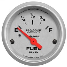 AutoMeter Products 4316 Fuel Level Gauge   240 E/33 F