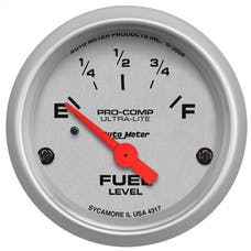 AutoMeter Products 4317 Fuel Level Gauge   0 E/30 F