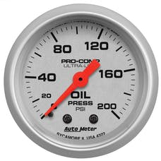 AutoMeter Products 4322 Oil Press  0-200 PSI