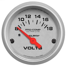 AutoMeter Products 4391 Voltmeter  8-18 Volts
