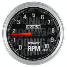 "AutoMeter Products 4498-09000 Tachometer Gauge 5"", 10K RPM, In-Dash Hoonigan"