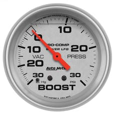 AutoMeter Products 4603 Boost/Vac  30 In. Hg/30 PSI