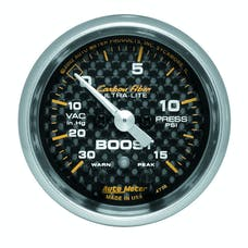AutoMeter Products 4776 Boost/Vac  30 In. Hg/15 PSI