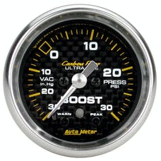 AutoMeter Products 4777 Boost/Vac  30 In. Hg/30 PSI