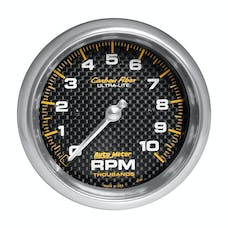AutoMeter Products 4798 Gauge; Tachometer; 3 3/8in.; 10k RPM; In-Dash; Carbon Fiber