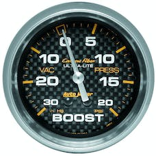 AutoMeter Products 4801 Boost/Vac  30 In. Hg/20 PSI
