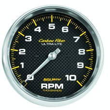 AutoMeter Products 4898 GAUGE; TACHOMETER; 5in.; 10K RPM; IN-DASH; CARBON FIBER