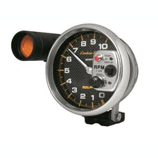 AutoMeter Products 4899 GAUGE; TACHOMETER; 5in.; 10K RPM; PEDESTAL W/EXT. SHIFT-LITE; CARBON FIBER