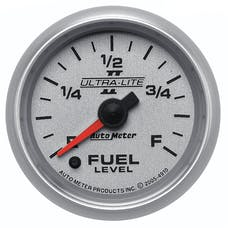 AutoMeter Products 4910 Ultra-Lite ll 2-1/16in Fuel Level - Univesal Stepper